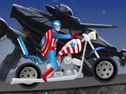 Capitão América Harley Passeio