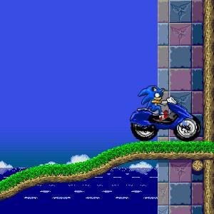 Sonic Motorbike