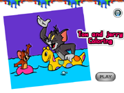 Tom e Jerry Colorir