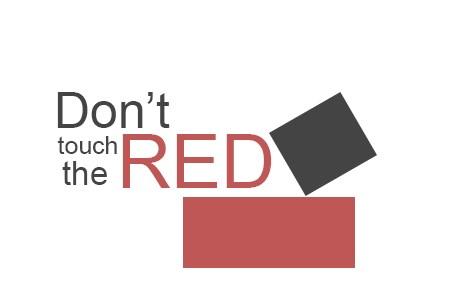 """Don""""t tocar os blocos vermelhos!"""