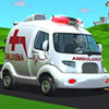 Cartoon Ambulância, Van