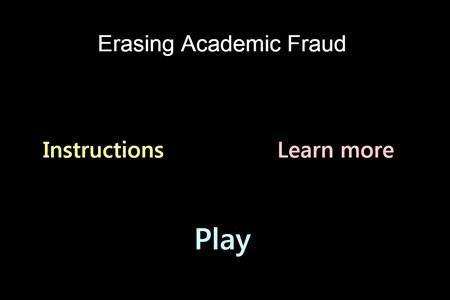 Apagar Fraude Acadêmica