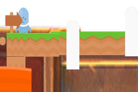 Jogo de plataforma:um jogo de engano