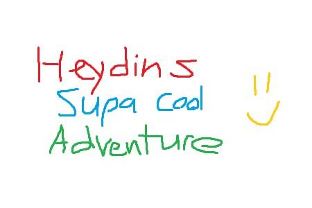 Heydins supa de aventura legal para levar seus amigos