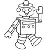 Robô Colorir