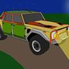SUV Carro de desenho animado Puzzle