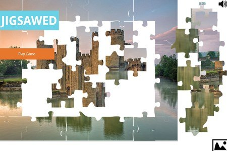 Jigsawed