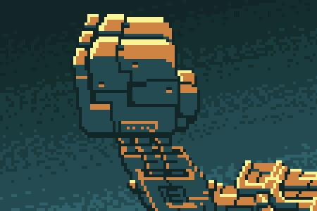 Robô a Demonstração de Aventura