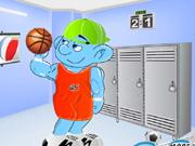 Desportivo Smurf Vestir