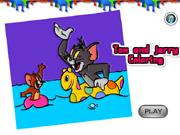 Tom e Jerry Colorir