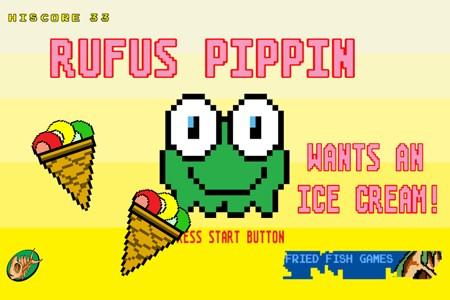 Rufus Pippin quer um sorvete