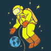 Astronauta Colorir