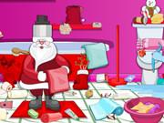 Christmas Bathroom Cleaning