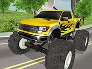 Monster Truck Driving Simulator Game